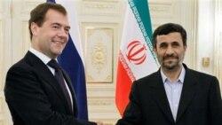 ملاقات رییس جمهوری روسیه با احمدی نژاد