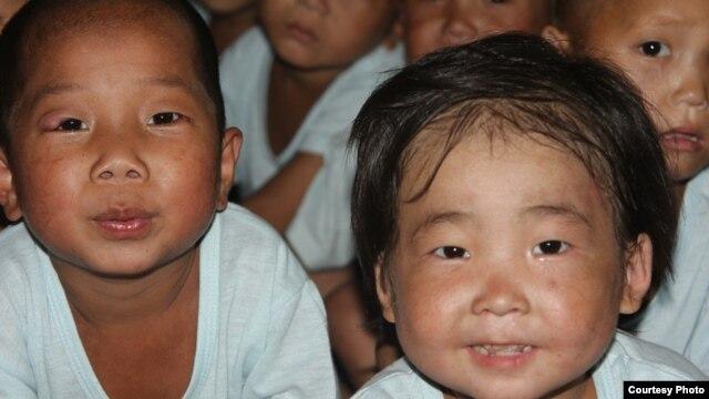 북한 황해남도 해주 고아원의 어린이들. 미션이스트 제공. (자료사진)