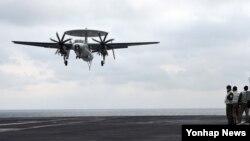Američke snage učestvuju u vojnim vježbama sa južnokorejskim vojnicima, a angažovan je i nosač aviona na nuklearni pogon USS Karl Vinson