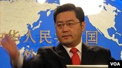 Juru bicara Kemenlu China Qin Gang menegaskan bahwa komisi keamanan nasional difokuskan pada ancaman domestik (foto: dok).