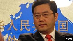 Phát ngôn viên Bộ Ngoại giao Trung Quốc Tần Cương