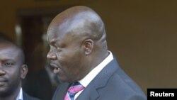 Roger Lumbala, ex député de l'opposition congolaise, qui a rejoint le M23
