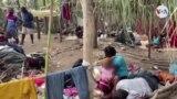 Migrantes haitianos en la frontera