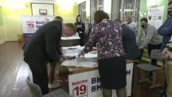 俄羅斯議會下議院選舉投票中 克里姆林宮支持的政黨在篡改選票指控中提前領先