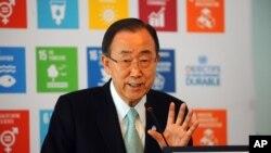 Umunyamabanga mukuru w'sihirahamwe ONU, Ban Ki-moon
