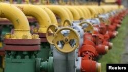 Подземное хранилище природного газа на западе Украины. Архивное фото.
