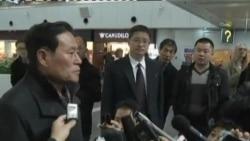 北韩特使与美方代表抵达北京
