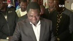 贊比亞反對派領袖贏得總統大選