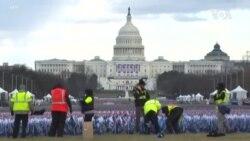 總統就職典禮日 歡慶中仍出現抗議