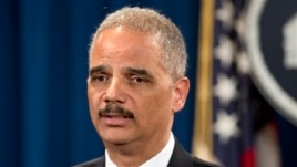 Attorney General Eric Holder May 14, 2013