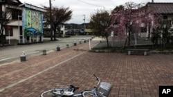 日本福島市發現高水平的核污染(資料圖片)