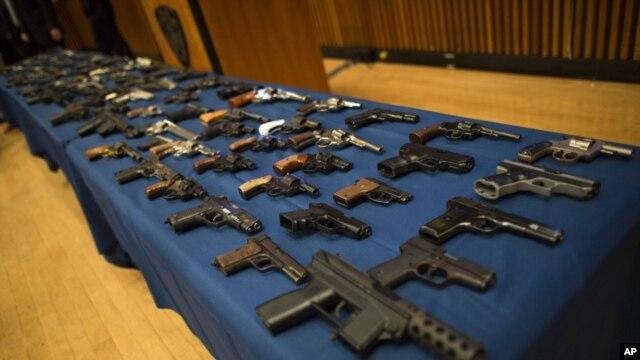 La venta de armas largas en Estados Unidos es libre.