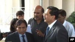 کمیشن کے سیکرٹری تیمور عظمت اور پی ایف یو جے کے صدر پرویز شوکت