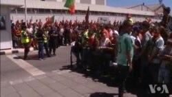 Euro 2016 : grosse ambiance à Lisbonne (vidéo)