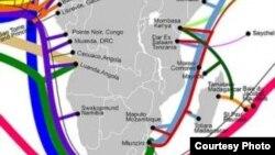 Ubulembu be Internet kuzwekazi le Africa