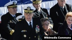 美軍印太司令部司令戴維森海軍上將。(資料圖片)