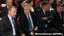 Bakir Izetbegović, Dragan Čović, Mladen Ivanić i Milorad Dodik