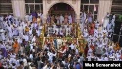 وینیتا اورراکیش کی شادی کی تقریب