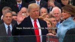 Donald Trump Resmi Menjadi Presiden Amerika Serikat