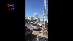 فیلم کوتاهی از انفجار انتحاری در چابهار