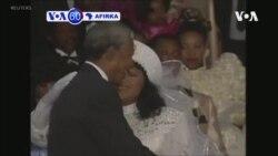 VOA60 AFIRKA: Zindi Mandela, Diyyar Shahararren Mai Fafutukar Yaki Da Launin Fata Na Afirka Ta Kudu Nelson ta Mutu A Johannesburg