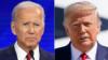 Joe Biden da Shugaban Kasar Amurka Donald Trump.