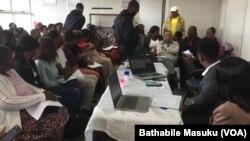 Emhlanganweni wabaphila ngokuthengisa abeBulawayo Vendors and Traders Association