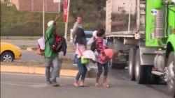 Limbo migratorio en la frontera entre México y Estados Unidos