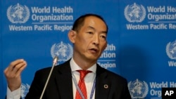 世界衛生組織西太平洋區域主任葛西健。