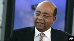 Ông Mo Ibrahim, doanh nhân người Anh gốc Sudan, sáng lập Hội Mo Ibrahim