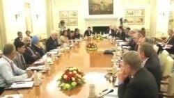 克里國務卿會晤印度外長庫爾希德