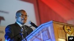 Le président sud-africain Jacob Zuma, avril 2017.