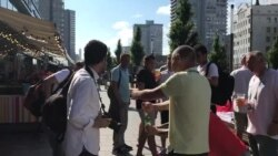 Ingleses celebran en Moscú previo a partido de semifinal