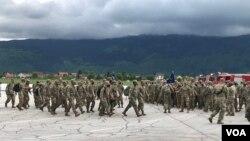 Na sarajevski aerodrom stiglo je 360 američkih vojnika