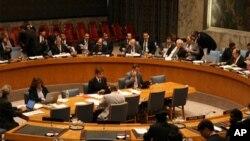 대북 인권결의안을 논의하는 유엔회의(자료사진)