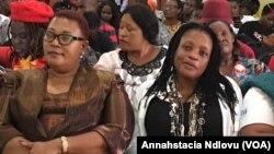 Dr. Thokozani Khupe and Priscilla Misihairabwi-Mushonga