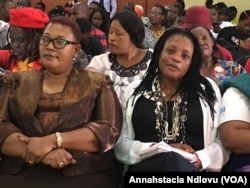 Thokozani Khupe and Priscilla Misihairabwi-Mushonga