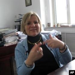 联合国教科文组织北京办事处官员卡贝丝