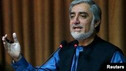 阿富汗总统候选人阿卜杜拉•阿卜杜拉