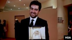 شهاب حسینی، هنرپیشه ایرانی، برنده جایزه بهترین بازیگر مرد جشنواره کن