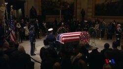 5位美國總統星期三向喬治H.W.布殊最後致意 (粵語)
