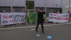 Continúan protestas en COP21