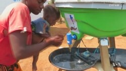 Oxfam Field Testing Hand Washing Stands to Cut Risk of Disease
