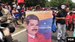 Ông Maduro đang được sự hậu thuẫn của quân đội