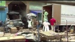 Démolition d'un marché de faux médicaments à Abidjan (vidéo)