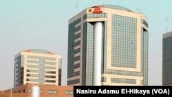 Hedkwatar kamfanin man Najeriya NNPC dake Abuja