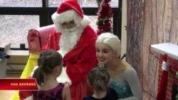 Điểm tâm với ông già Noel