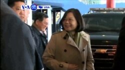 VOA60 America- China says it opposes any contact between Taiwanese leaders and U.S. officials