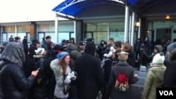 Акция ЛГБТ-сообщества у Госдумы. 19 декабря 2012 года.