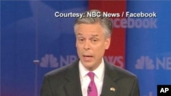 Jon Huntsman appears on US national television